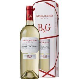 Barton a Guestier (víno) Barton&Guestier Bordeaux Blanc AOC 2017 0,75l Dárkové balení