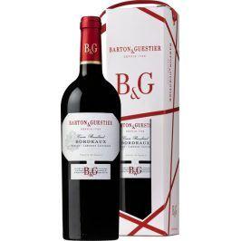 Barton a Guestier (víno) Barton&Guestier Bordeaux Rouge AOC 2016 0,75l Dárkové balení