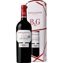 Barton a Guestier (víno) Barton&Guestier Saint Emilion AOC 2016 0,75l Dárkové balení