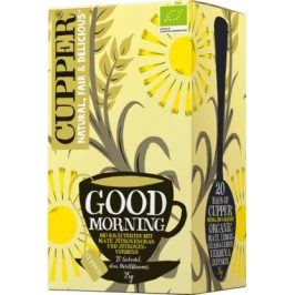 Cupper Čaj Bio Good Morning Tee 20 x 1.75 g