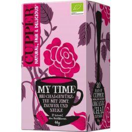 Cupper Čaj Bio My Time Chai Gewürz Tee 20 x 2.2 g