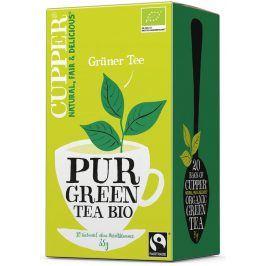 BIO Čaj Cupper Pur Green - čistý zelený čaj 20 sáčků