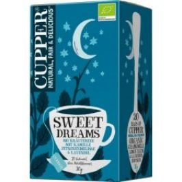 Cupper Čaj Bio Sweet Dreams Tee 20 x 1.5 g