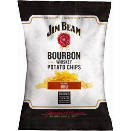 Jim Beam (bourbon) Bramborové chipsy Jim Beam BBQ - chipsy s příchutí Barbecue 120g