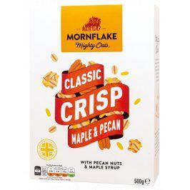 Classic Crisp Maple & Pecan - mysli s pekanovými ořechy a javorovým sirupem 500g Mornflake