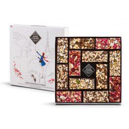 "Michel Cluizel degustační sada čokolád s ovocem ""Coffret Pause Chocolat à Paris"" 120g"