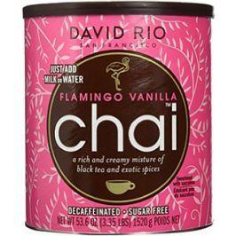 David Rio (inst. čaj) Flamingo Vanilla Chai bez cukru a kofeinu 1520 g David Rio