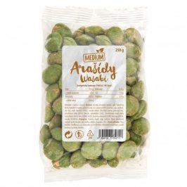 Arašídy medium wasabi 250g Wolfberry