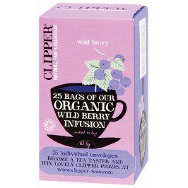 Bio Čaj Organic Wild Berry - Lesní plody 25 sáčků