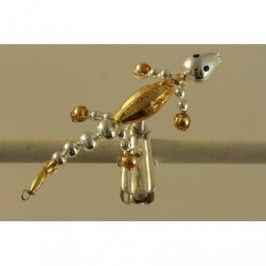 Hobby set  JEŠTĚRKA -  skleněné foukané perle