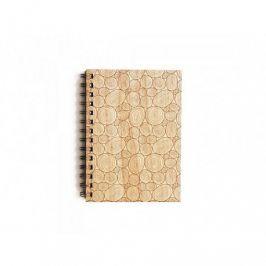 Originální dřevěný zápisník