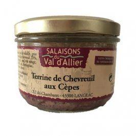 Lahodná francouzská terina se srnčím masem a hříbky
