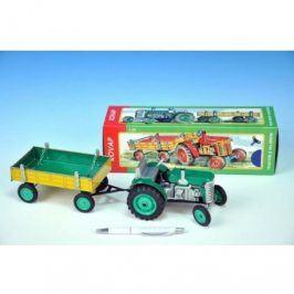 Traktor Zetor s valníkem - zelený