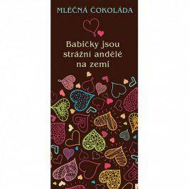 Dárková čokoláda pro babičku