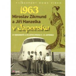 Hanzelka a Zikmund v Japonsku (2 DVD)