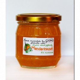 Domácí mandarinková marmeláda BEZ CUKRU