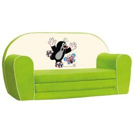 Bino Mini pohovka krteček, zelená