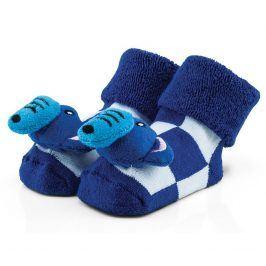 Attractive Chlapecké ponožky se slonem - modré