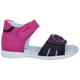 Protetika Dívčí sandály Tiana - růžové