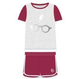 Disney Brand Dětské pyžamo Harry Potter - šedo-červené