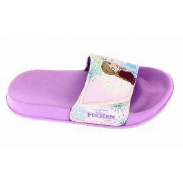 Disney by Arnetta Dívčí pantofle Frozen - fialové