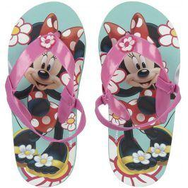 Disney Brand Dívčí žabky Minnie - barevné