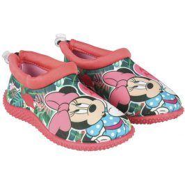 Disney Brand Dívčí boty do vody Minnie - růžové