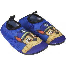 Disney Brand Chlapecké boty do vody Paw Patrol - modré