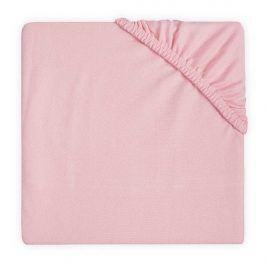 Jollein Prostěradlo Jersey DOUBLE blush pink