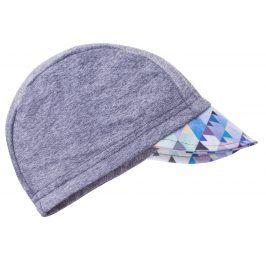 Unuo Chlapecká čepice s kšiltem - UV 50+ - šedá