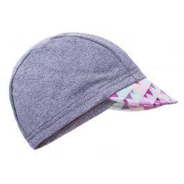 Unuo Dívčí čepice s kšiltem - UV 50+ - šedá