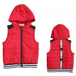 Carodel Chlapecká vesta - červená