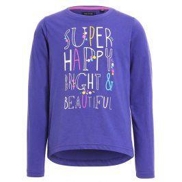Blue Seven Dívčí mikina Super happy - fialová