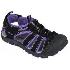 LOAP Dívčí sandály Dopey - fialovo-černé