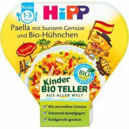 HiPP BIO Paella se zeleninou a kuřecím masem, 250g