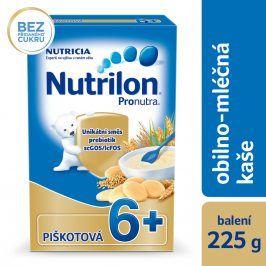 Nutrilon Mléčná kaše piškotová, 225g