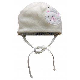 Broel Dívčí čepice Candy - béžová