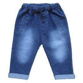 Carodel Chlapecké kalhoty s džínovým efektem- modré