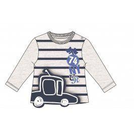 Mix 'n Match Chlapecké tričko s autem - šedé