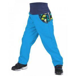 Unuo Chlapecké softshellové kalhoty s fleecem Souhvězdí medvěda  - modré
