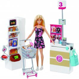 MATTEL Barbie Supermarket herní set