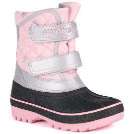 Wink Dívčí sněhule - růžovo-černé