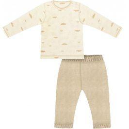 Nini Chlapecké pyžamo - béžové