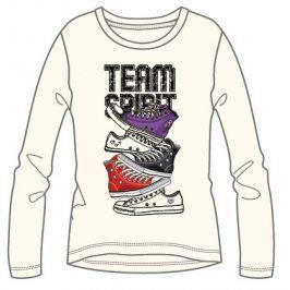 Mix 'n Match Dívčí tričko Team Spirit - bílé