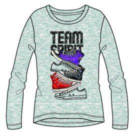 Mix 'n Match Dívčí tričko Team Spirit - šedé