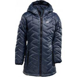 ALPINE PRO Dívčí kabátek ISSO- černé