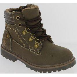 V+J Chlapecké zimní boty - hnědé