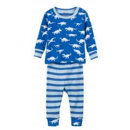 Hatley Chlapecké pyžamo s dinosaury - modré