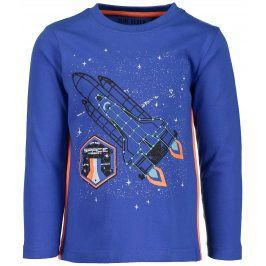 Blue Seven Chlapecké tričko s raketou - modré
