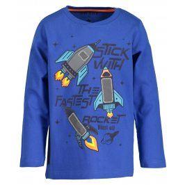 Blue Seven Chlapecké tričko s raketami - tmavě modré